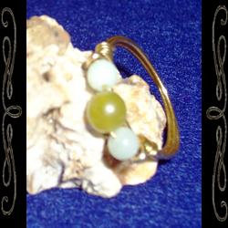 Triple-stone Ring