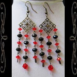 Vampirella Earrings