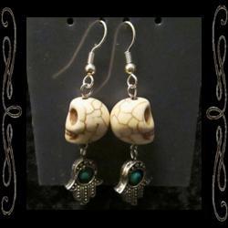 Fatima's Bones Earrings