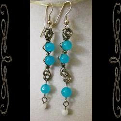 Atlantean Ladder Earrings