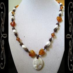 Lady of Autumn Necklace