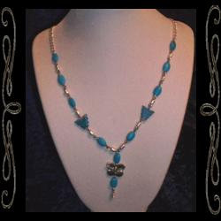 Southwest Faery Wings Necklace
