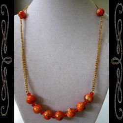 Tibetan Fire Necklace