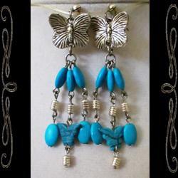 Southwest Faery Wings Earrings