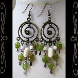 Dream Spiral Earrings