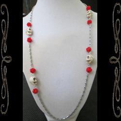 La Santa Muerte Bones Necklace