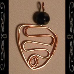 Snake Goddess Hieroglyph Pendant