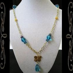 Water Butterfly Necklace