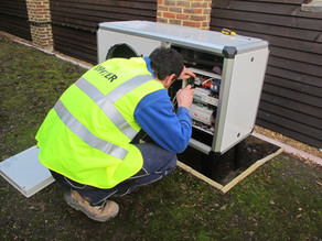 Heat pump installations
