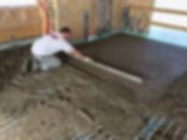 Installing a Screed underfloor heating System