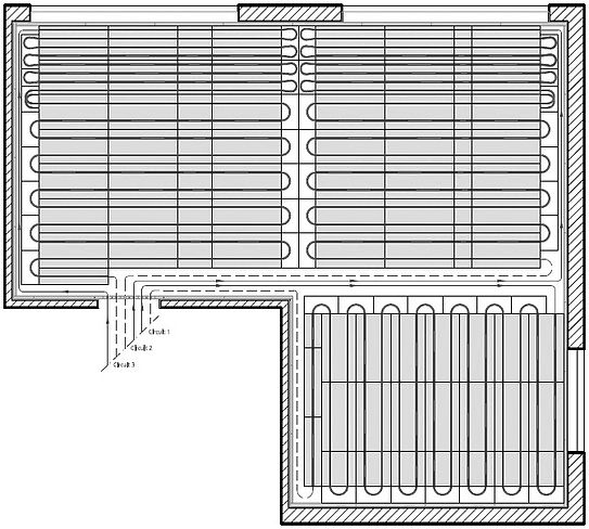 System Ideal layout diagram