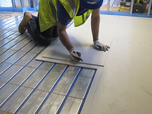 e7c2f935fad cool it is sensible to mark the positions of the underlying pipework on the  fermacell boards it is highly recommended that you prepare a couple of rows  in ...