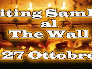 27 OTTOBRE Waiting Samhain - Chiacchiere e intaglio zucca al The Wall