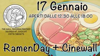 17 GENN. RamenDay + Cinewall - Principessa Mononoke