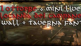 1 ottobre - La Locanda dei Campanelli (Live in Taverna)