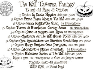 Ottobre al The Wall - Samhain Edition