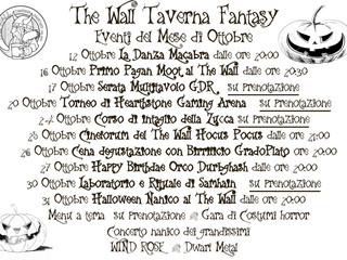 Ottobre al The Wall - Samhain Edition