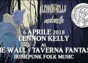 6 APR - Lennon Kelly al The Wall