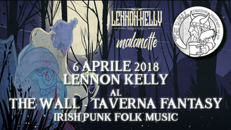 6 APR - Lennon Kelly al The Wall