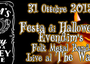31 OTTOBRE Haunted Halloween Party 2015