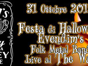 31 OTTOBRE Haunted Halloween Party 2015