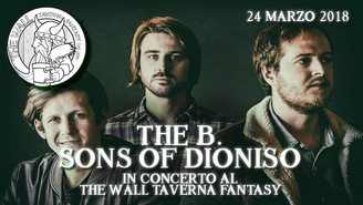 SAB 24 MAR - Bastard Sons of Dioniso Live al The Wall