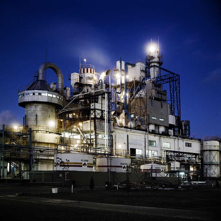 Unilever. Planta Industrial