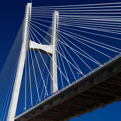 Puente Rosario Victoria, Argentina