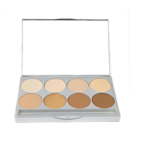 GRAFTOBIAN HD PRO POWDER FOUNDATION PALETTE- WARM