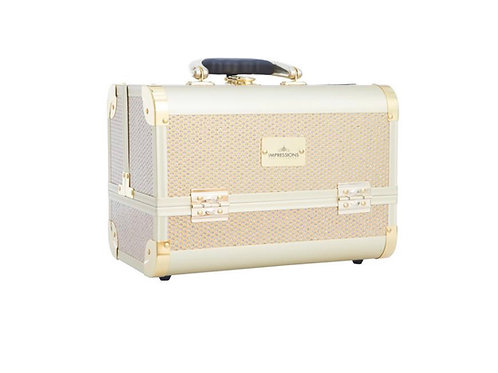 SLAYCASE MINI MAKEUP TRAVEL CASE- CHAMPAGNE SPARKLE