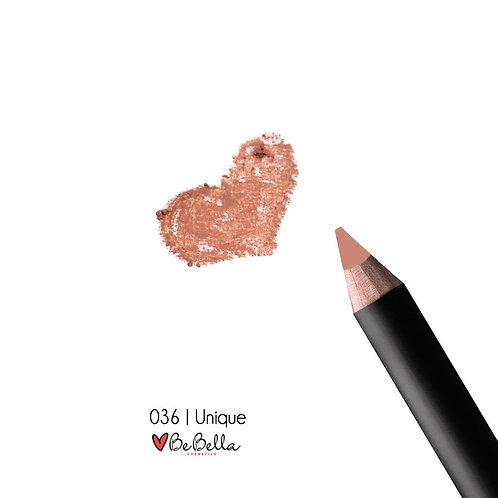 BeBella Cosmetics Lip Liner- 036 UNIQUE