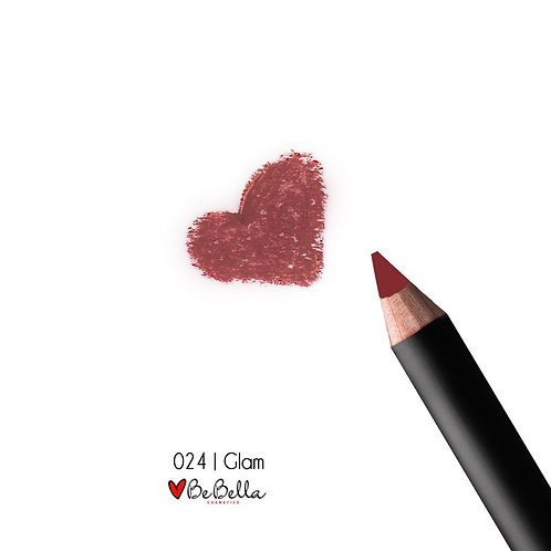 BeBella Cosmetics Lip Liner- 024 GLAM