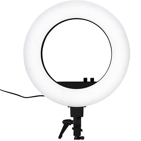 "18"" LED Vanity Studio Ring Light with Stand, Bag & Accessories"