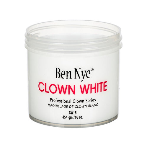 BEN NYE CLOWN WHITE MAKEUP - 454 gm./ 16 oz.
