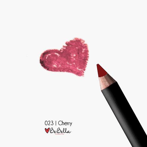 BeBella Cosmetics Lip Liner- 023 CHERRY