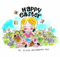 Happy Easter by Blond Amsterdam 2015
