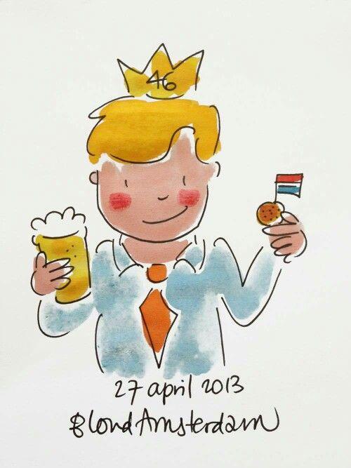 Koning 46 jaar 2013