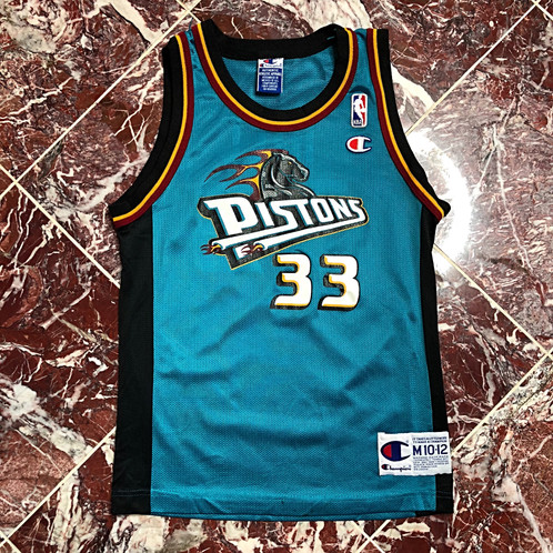 hot sale online 7edd2 0b518 VINTAGE YOUTH GRANT HILL PISTONS JERSEY
