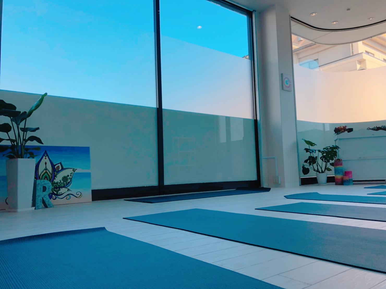 yoga studio roomの画像
