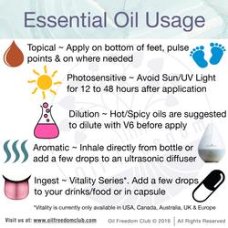 Essential Oil Usage-01