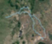 Route Map Budget-Safari-Kenya-7-Days SansaTravel