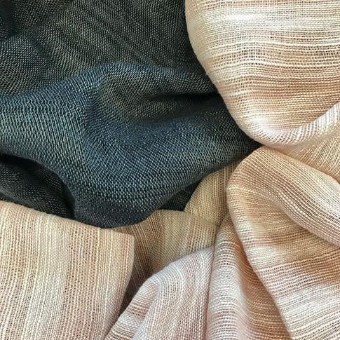 Natural fabric inspiration