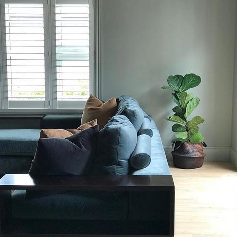 Traditional villa, contemporary colours