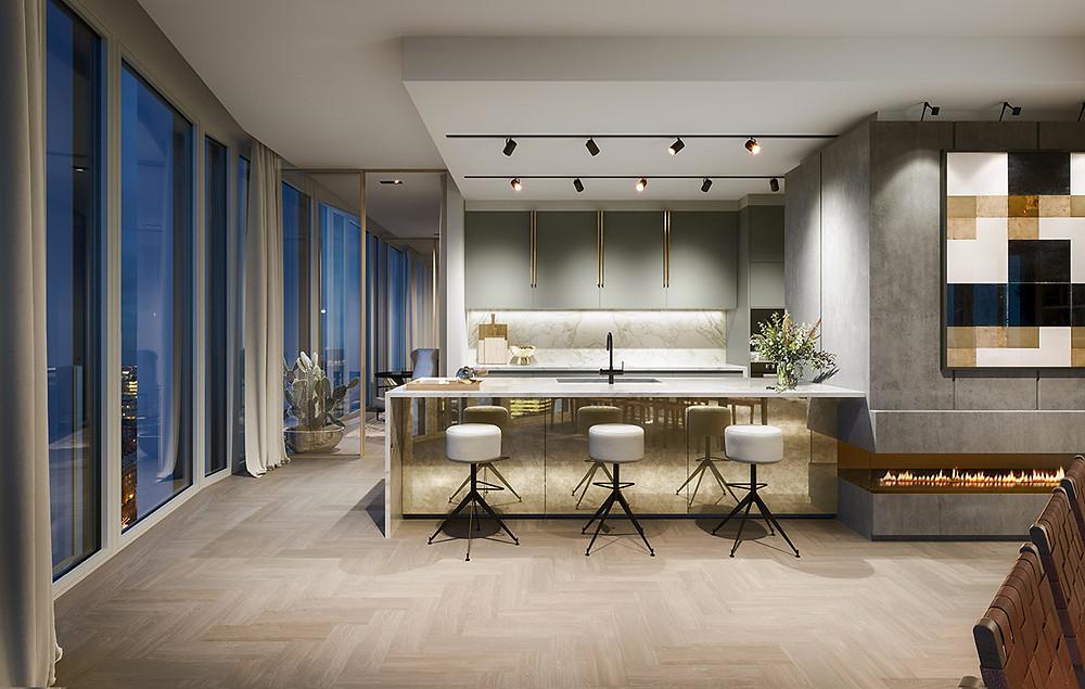 Studio Ashby, South Bank Apartment