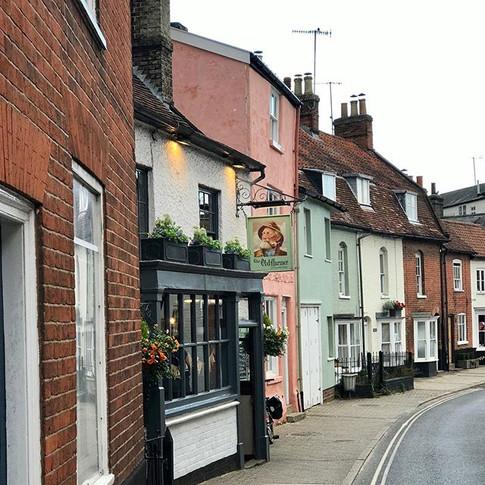 Researching the surroundings -  Woodbridge village, UK