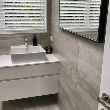 Tiny bathroom upgrade