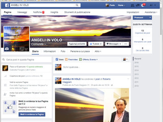 Angeli in Volo, su Facebook.