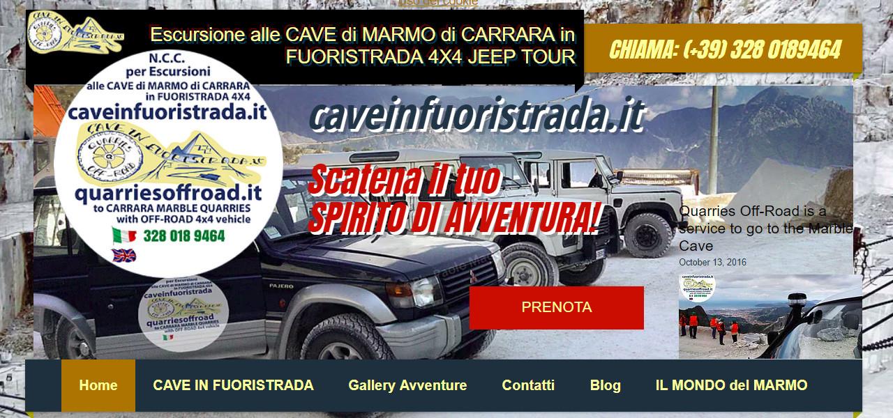 Buon Natale 4x4.Blog News Escursione Alle Cave Di Marmo Di Carrara In