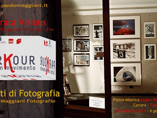 Esposizione Natalizia a Parkour Carrara...