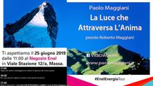 """""""LA LUCE CHE ATTRAVERSA L'ANIMA"""" ENEL NEGOZIO Massa-Carrara"""